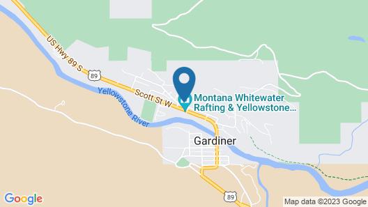 Yellowstone's Treasure Cabins Map