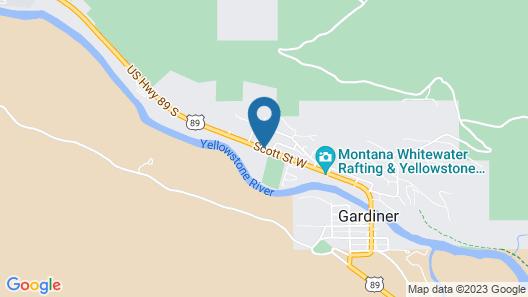Yellowstone Big Rock Inn Map