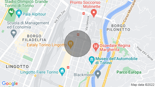 Excellent Independent House! Nearby: Lingotto / Centro Map