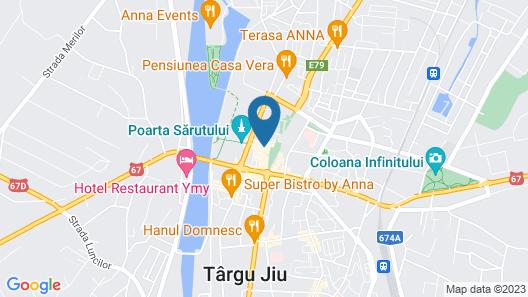 Hotel Gorj Map