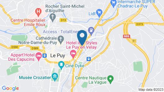Logis Hôtel le Bilboquet Map