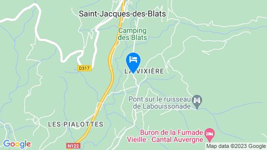 BnB la Bixière Map