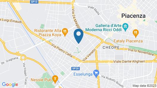 Il Piccolo Piacenza Map