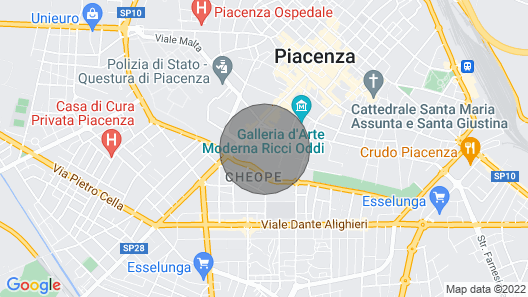 Residence Il Viale Piacenza Map