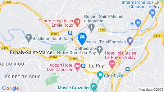 ibis Le Puy en Velay Centre Map
