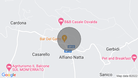 5 Bedroom Accommodation in Alfiano Natta -al- Map