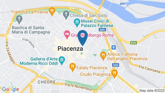 R&B La Meridiana Map