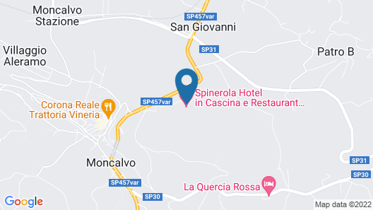 Spinerola Hotel in Cascina & Restaurant UvaSpina Map