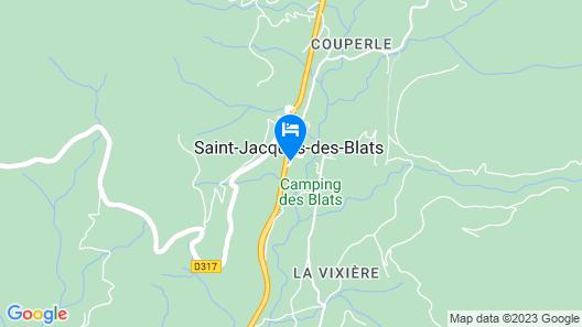 Hôtel le Brunet Map