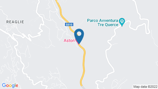 Aston Hotel Map