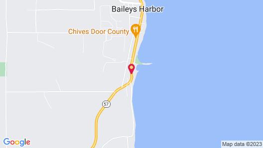 Square Rigger Harbor Motel Map