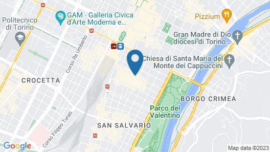 Best Western Hotel Piemontese Map