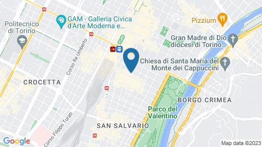 Apart Hotel Torino Map