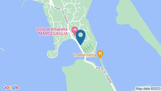 Albarella Appartamenti Marcegaglia Map