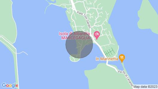 3 Bedroom Accommodation in Albarella Map