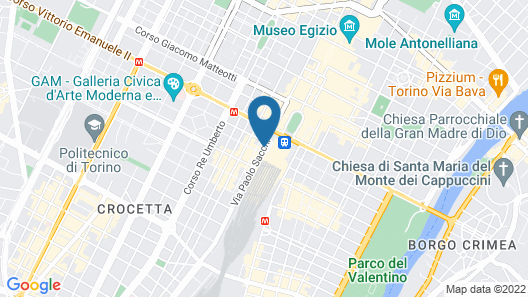 Hotel Turin Palace Map