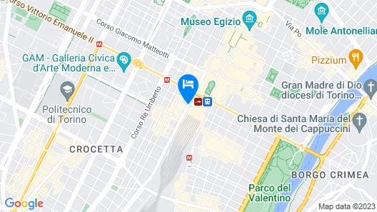 Hotel Turin Palace Map