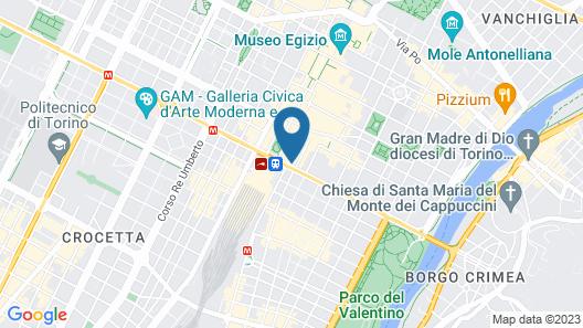 Starhotels Majestic Map