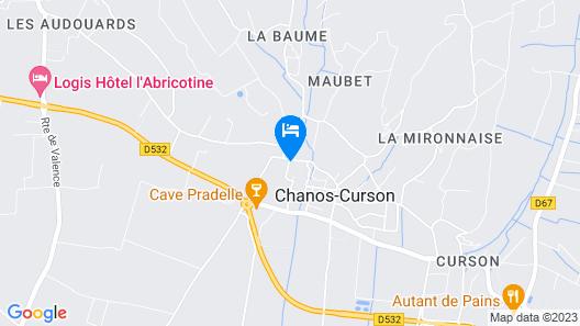 La Ferme des Denis - Chambres d'hôtes Map