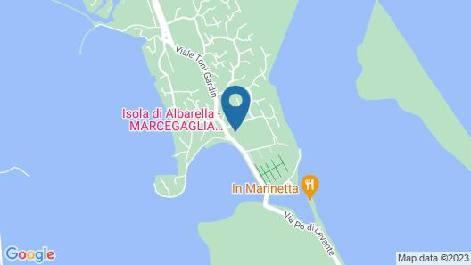 Albarella V4P Map
