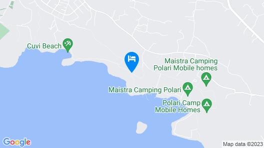 Maistra Apartments Villas Rubin, Rovinj Map