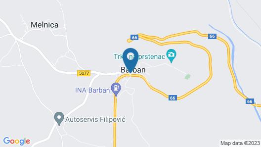 Villa Dalia Map