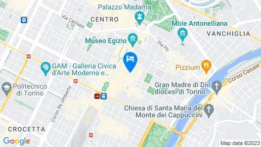 Grand Hotel Sitea Map