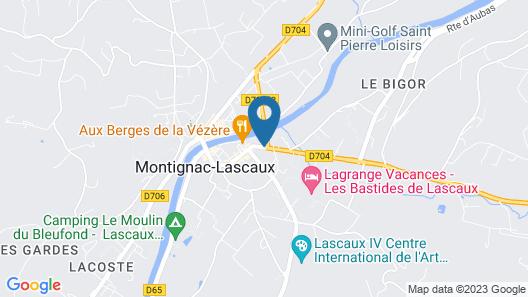 Hôtel Le P'tit Monde Map