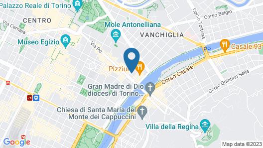 Piazza Vittorio Suites Map