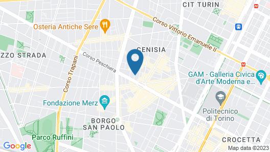 Design Loft Cenisia Map