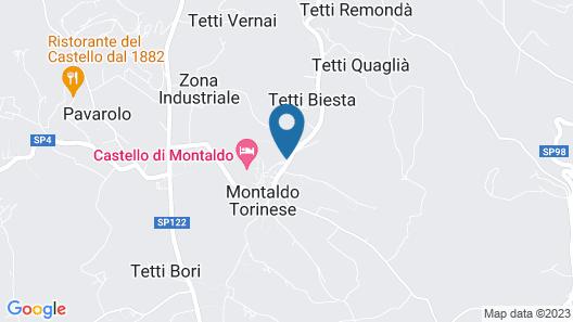 Castello di Montaldo Torino Map