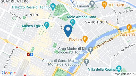 Hotel Amadeus Torino Map
