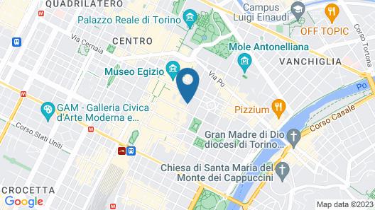 Palazzo del Carretto Map