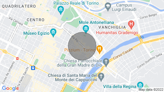 Via Po 38 apartment Map