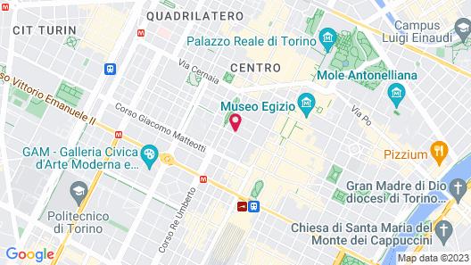 Allegroitalia Golden Palace Map