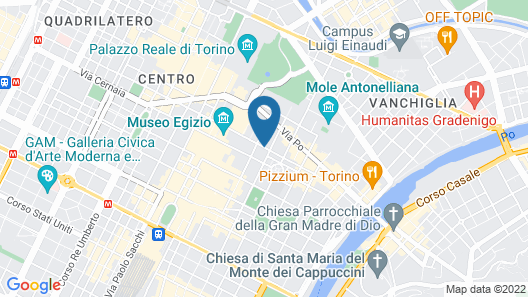 Residenze Torinesi -Cavour Map