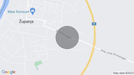 Apartments Peric Županja Map