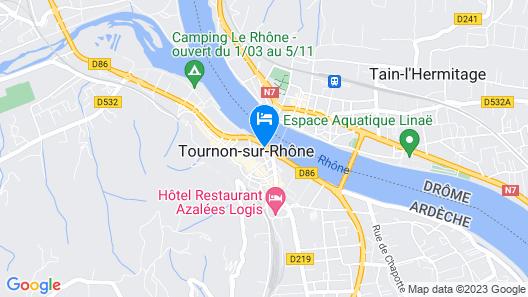 Hôtel Le Château Map