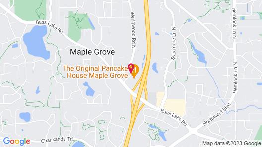 Hilton Garden Inn Minneapolis - Maple Grove Map