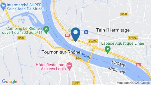 Appartement Centre Ville rue Calme et Proche des Quais du Rhone Map
