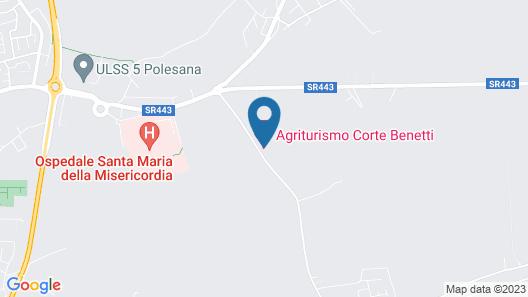 Alloggio Corte Benetti Map