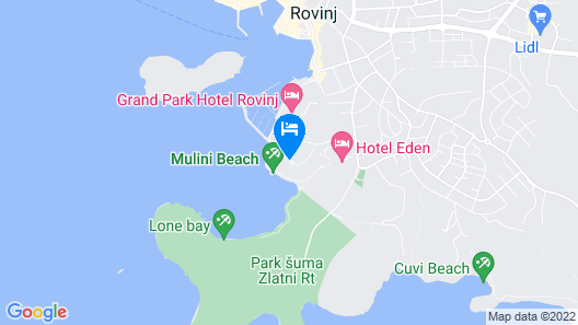 Maistra Monte Mulini Map