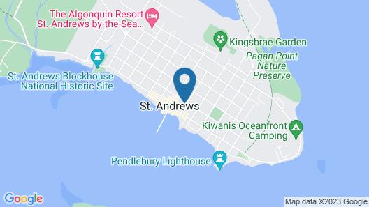 Inn on Frederick Map