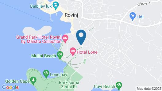 Hotel Arupinum Map