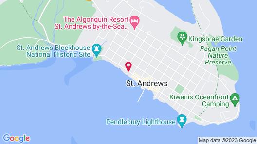 Saint Andrews Inn & Suites Map
