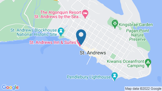 Saint Andrews Inn & Suites Map