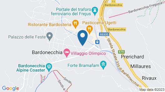 Hotel I Larici Map