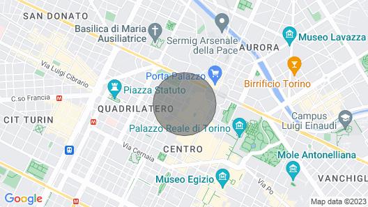 Square-studio Apartment B307 Map