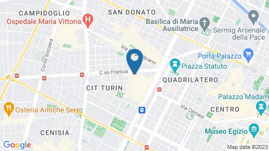 Statuto Eco Art Hotel Map