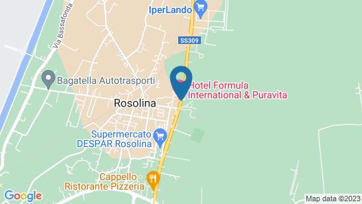 Formula International & Puravita SPA Map
